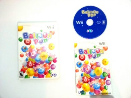 Balloon Pop game for Nintendo Wii -Complete