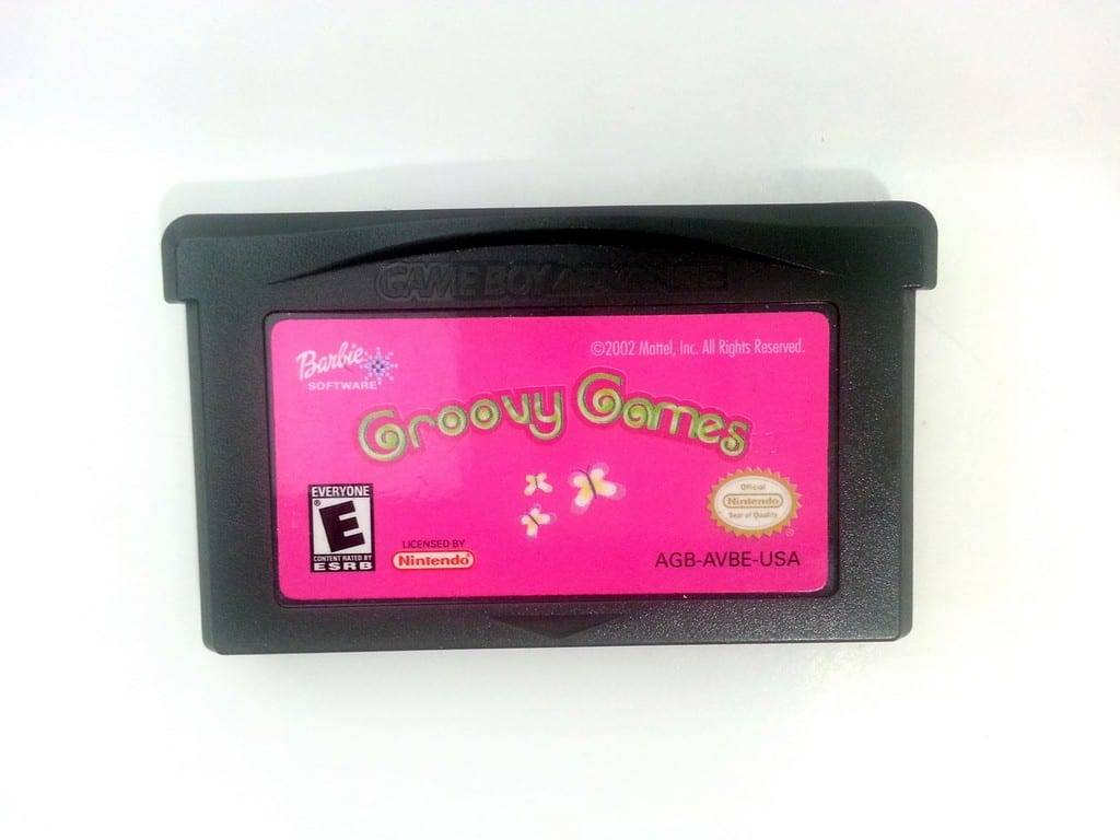 Barbie Groovy Games game for Nintendo Gameboy Advance - Loose