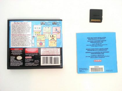 Big Brain Academy game for Nintendo DS (Complete)   The Game Guy