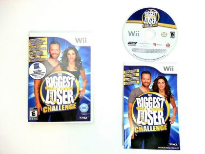 Biggest Loser Challenge game for Nintendo Wii -Complete