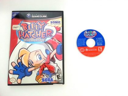 Billy Hatcher and The Giant Egg game for Nintendo Gamecube -Game & Case