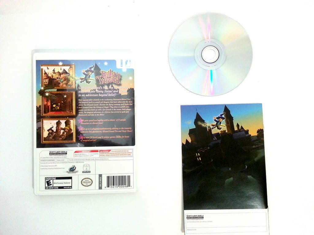 Billy The Wizard game for Wii (Complete)   The Game Guy