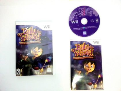 Billy The Wizard game for Nintendo Wii -Complete