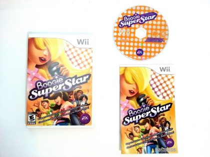 Boogie SuperStar game for Nintendo Wii -Complete