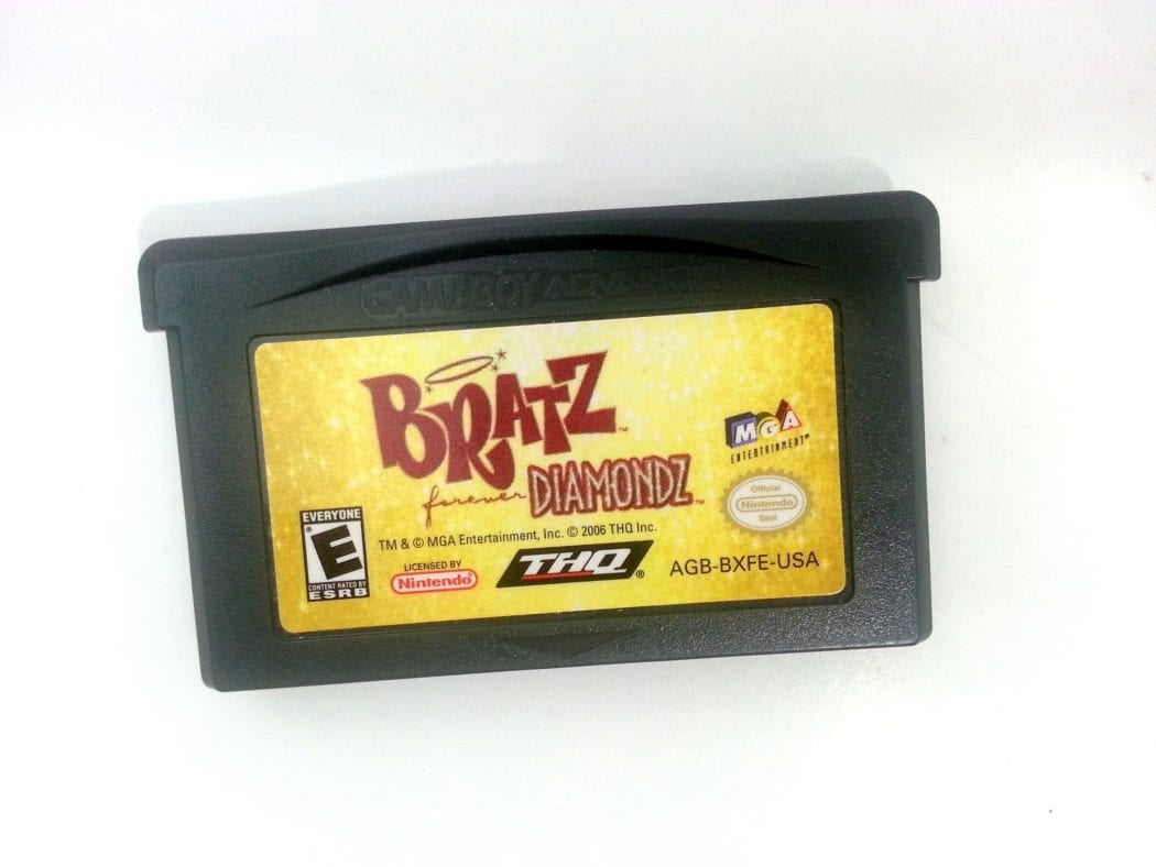 Bratz Forever Diamondz game for Nintendo Gameboy Advance - Loose