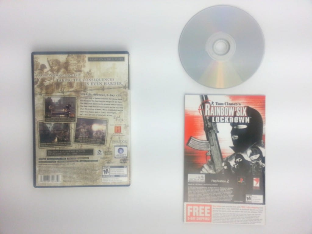 Brothers in Arms Earned in Blood game for Playstation 2 (Complete) | The Game Guy