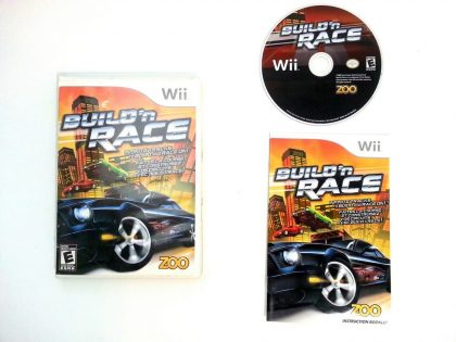 Build 'N Race game for Nintendo Wii -Complete