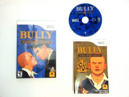 Bully Scholarship Edition game for Nintendo Wii -Complete