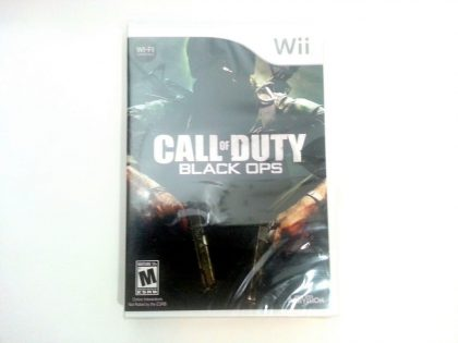 Call of Duty: Black Ops game for Nintendo Wii -Complete