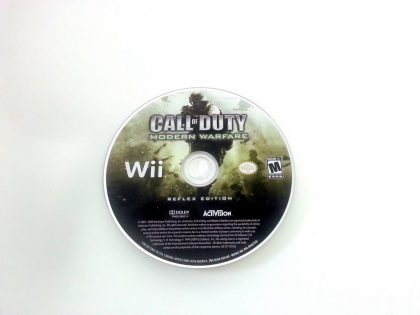 Call of Duty: Modern Warfare Reflex game for Nintendo Wii - Loose