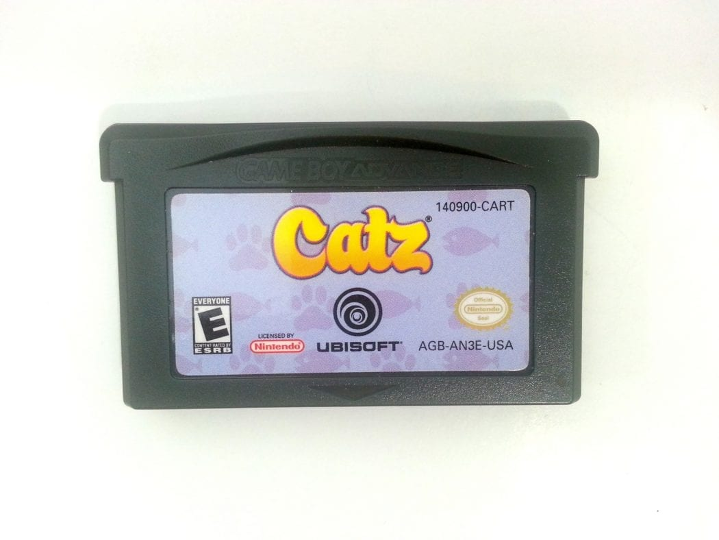Catz game for Nintendo Gameboy Advance - Loose