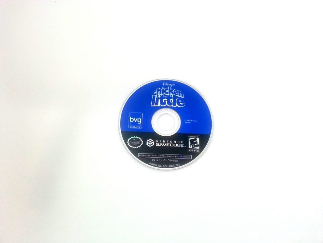 Chicken Little game for Nintendo Gamecube - Loose