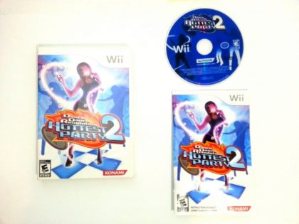 Dance Dance Revolution Hottest Party 2 game for Nintendo Wii -Complete