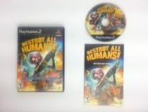 Destroy All Humans game for Sony Playstation 2 PS2 -Complete