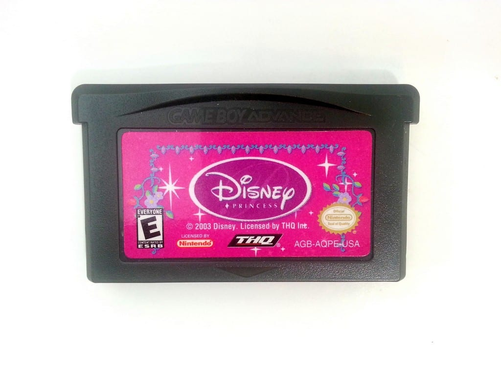 Disney Princess game for Nintendo Gameboy Advance - Loose