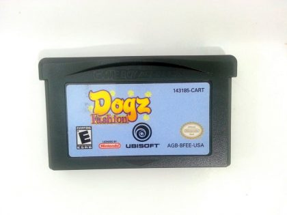 Dogz Fashion game for Nintendo Gameboy Advance - Loose