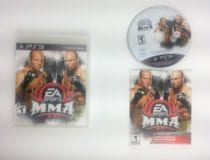 EA Sports MMA game for Sony Playstation 3 PS3 -Complete