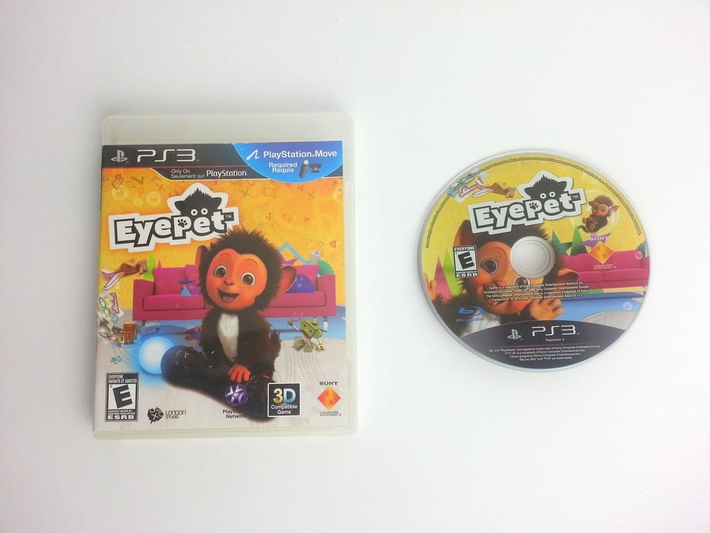 EyePet game for Sony Playstation 3 PS3 -Game & Case