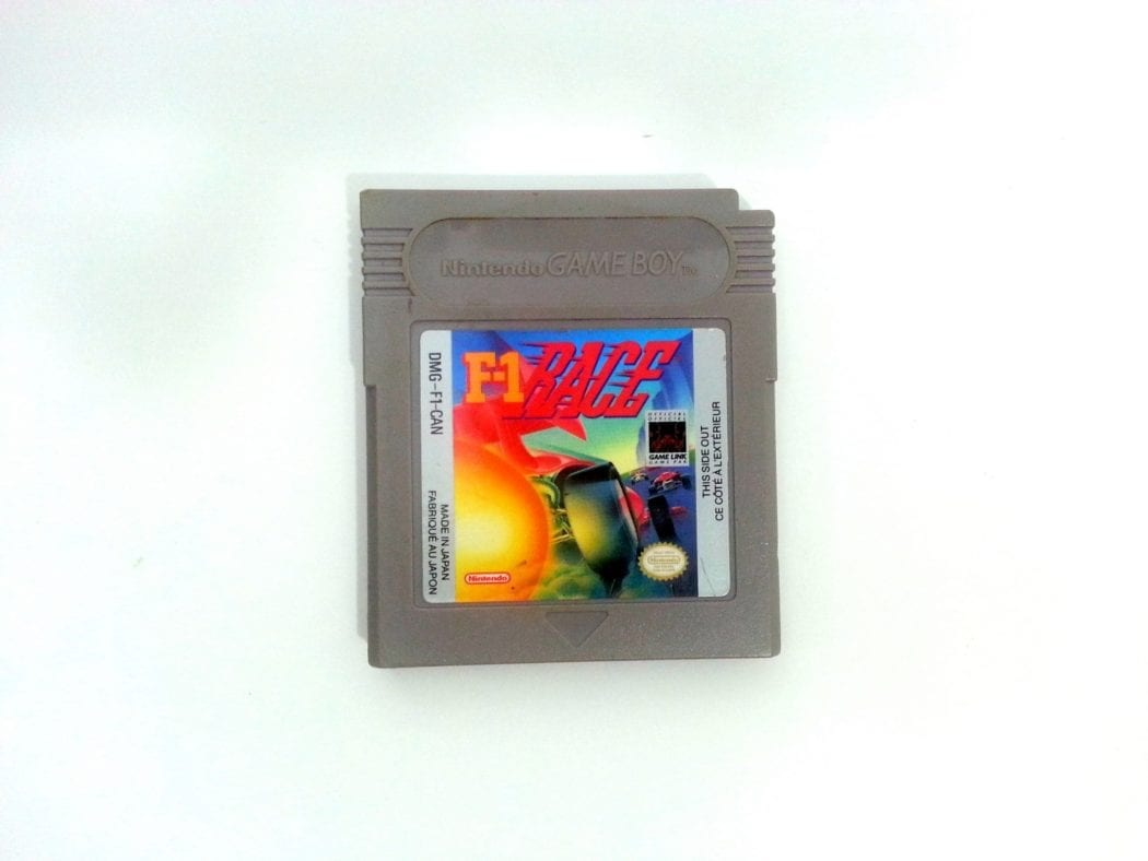 F-1 Race game for Nintendo GameBoy - Loose