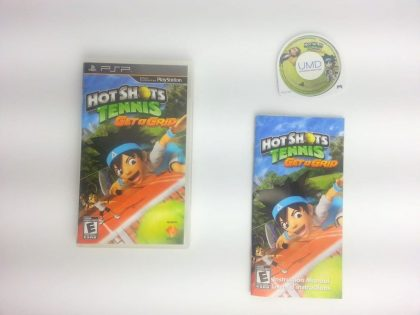 Hot Shots Tennis: Get a Grip game for Sony PSP -Complete