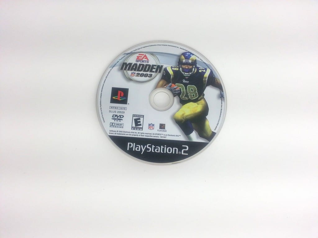 Madden 2003 game for Sony Playstation 2 PS2 - Loose
