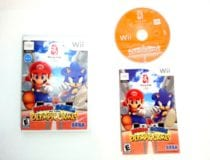 Mario and Sonic Olympic Games game for Nintendo Wii -Complete
