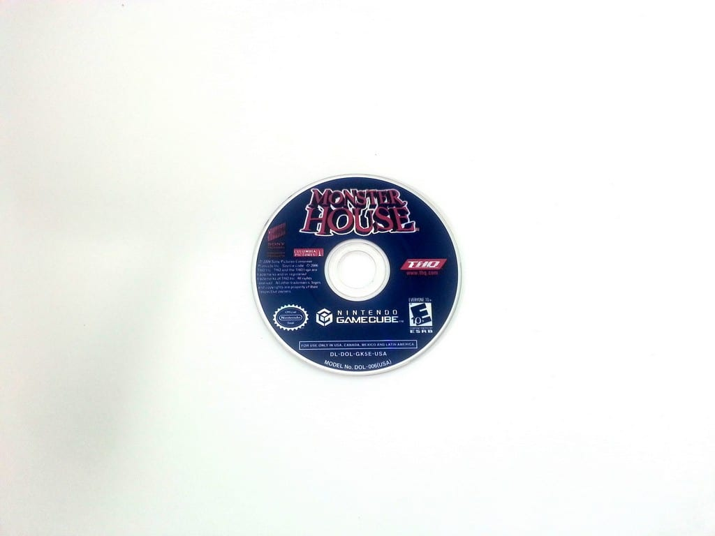 Monster House game for Nintendo Gamecube - Loose