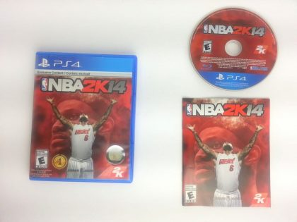 NBA 2K14 game for Sony Playstation 4 PS4 -Complete