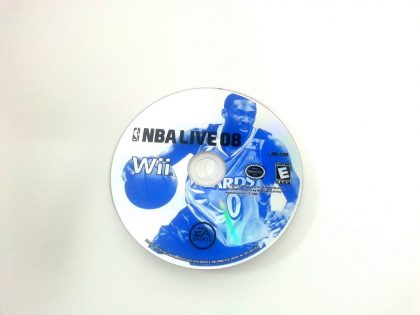 NBA Live 2008 game for Nintendo Wii - Loose
