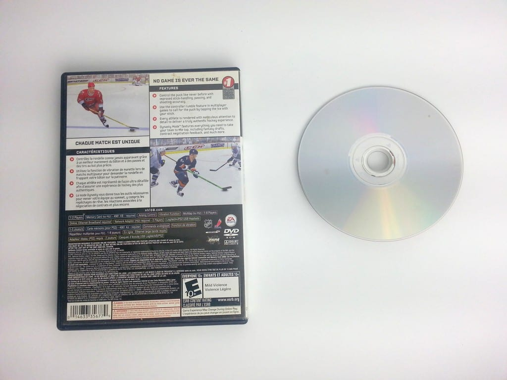 NHL 08 game for Playstation 2 | The Game Guy