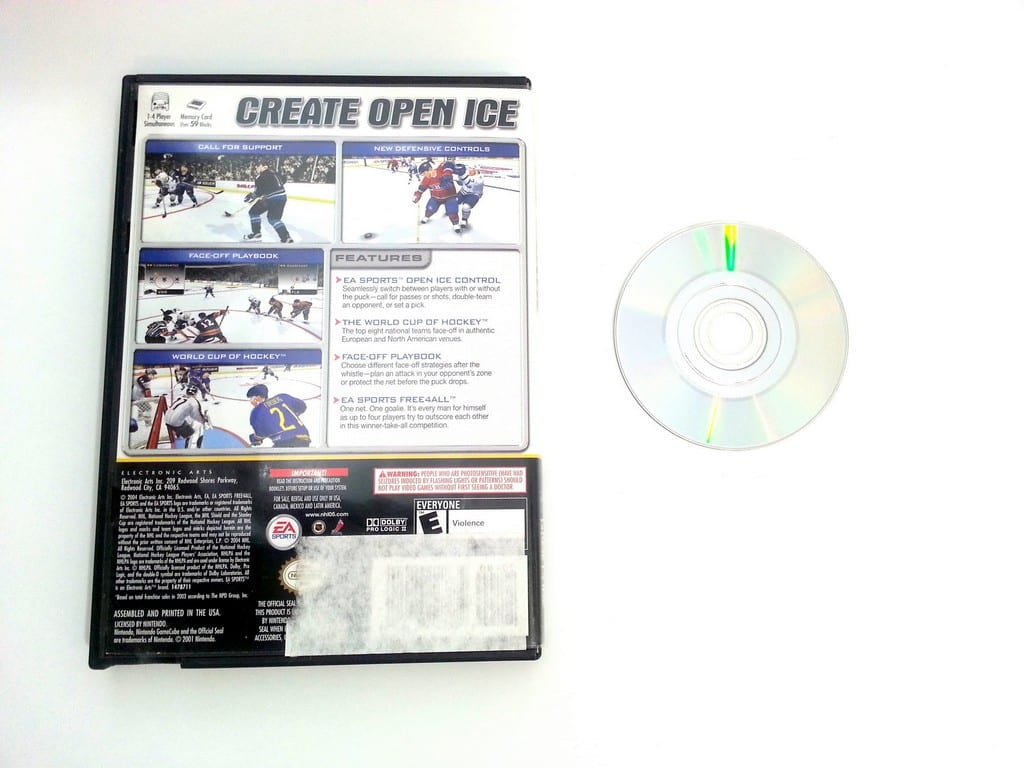 NHL 2005 game for Gamecube   The Game Guy