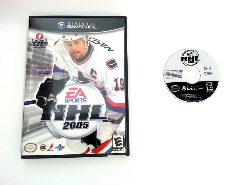 NHL 2005 game for Nintendo Gamecube -Game & Case