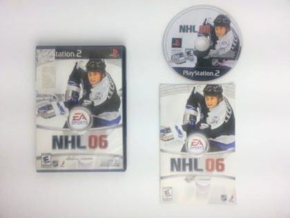 NHL 2006 game for Sony Playstation 2 PS2 -Complete