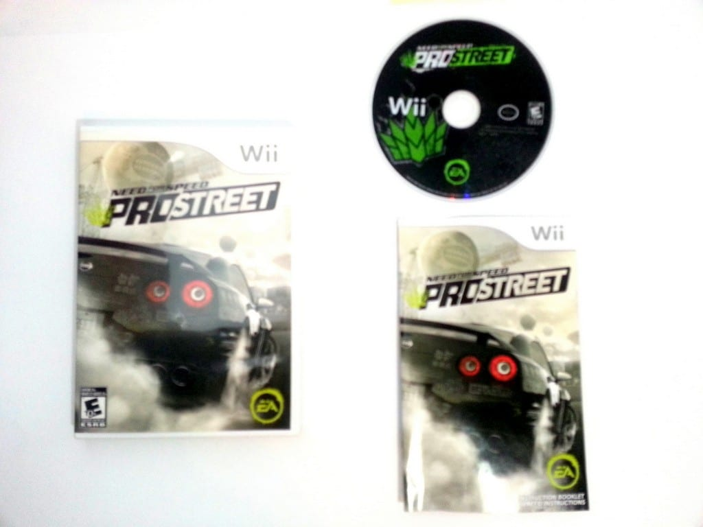 need for speed prostreet game for wii complete the. Black Bedroom Furniture Sets. Home Design Ideas