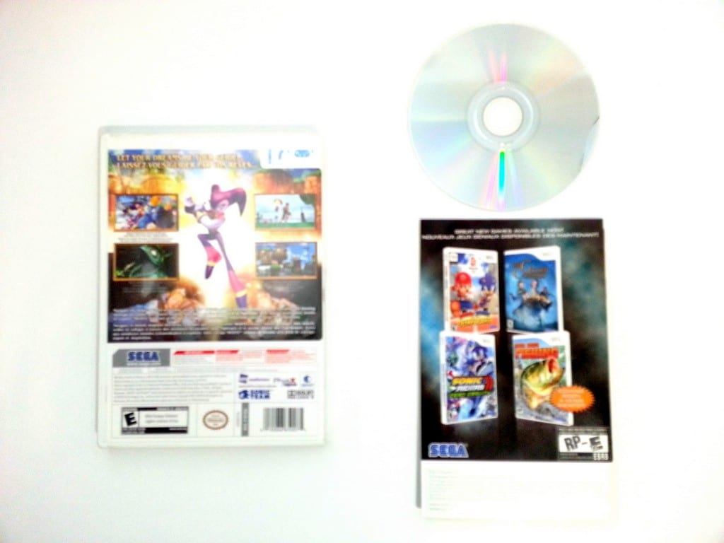 Nights Journey of Dreams game for Wii (Complete) | The Game Guy