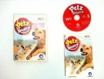 Petz Sports Dog Playground game for Nintendo Wii -Complete