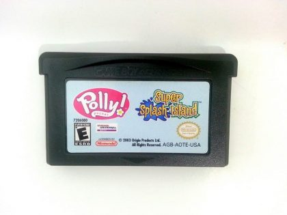 Polly Pocket Super Splash Island game for Nintendo Gameboy Advance - Loose