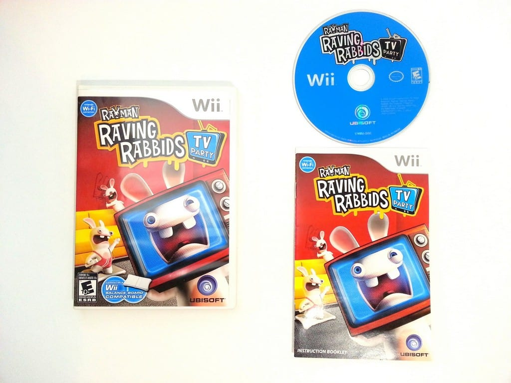rayman raving rabbids tv party ds