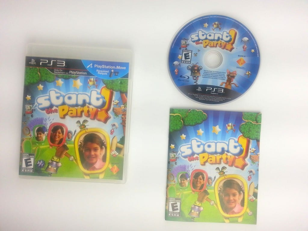 Start the Party game for Sony Playstation 3 PS3 -Complete