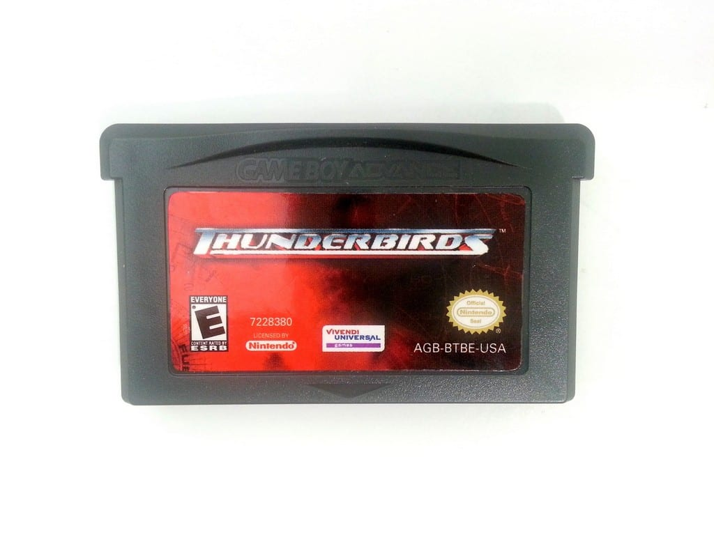 Thunderbirds game for Nintendo Gameboy Advance - Loose