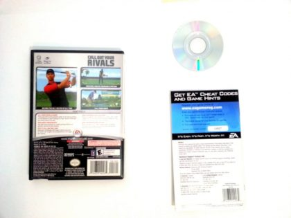 Tiger Woods 2006 game for Gamecube (Complete) | The Game Guy