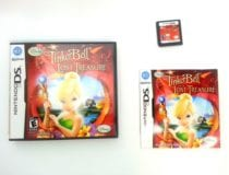 Tinker Bell and the Lost Treasure game for Nintendo DS -Complete