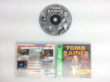 Tomb Raider II game for Sony Playstation PS1 PSX -Complete