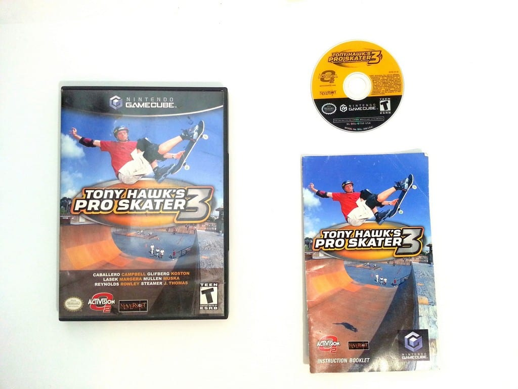 tony hawk 3 game for gamecube complete the game guy