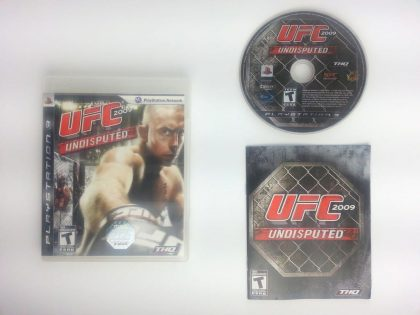 UFC 2009 Undisputed game for Sony Playstation 3 PS3 -Complete
