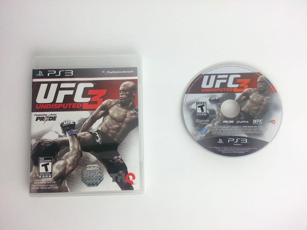 UFC Undisputed 3 game for Playstation 3   The Game Guy