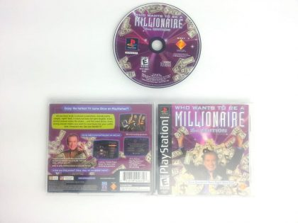 Who Wants To Be A Millionaire 2nd Edition game for Playstation PS1 PSX Complete