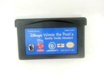Winnie the Pooh Rumbly Tumbly Adventure game for Nintendo Gameboy GBA - Loose