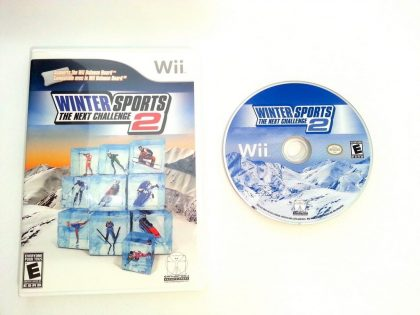 Winter Sports 2 The Next Challenge game for Nintendo Wii -Game & Case