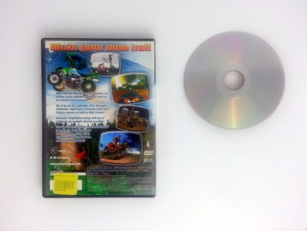 ATV Offroad Fury 2 game for Playstation 2 | The Game Guy